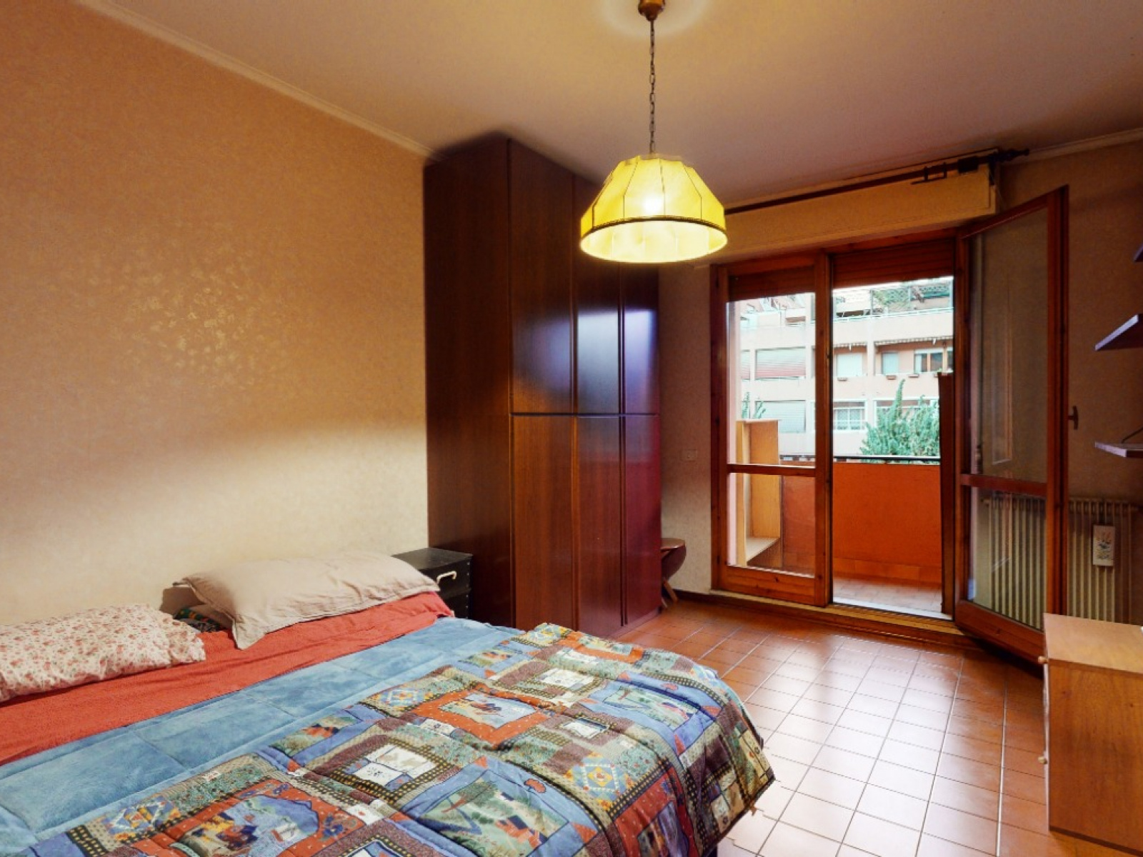 In vendita Quadrilocale Zona Laurentina Montagnola Roma   camera matrimoniale