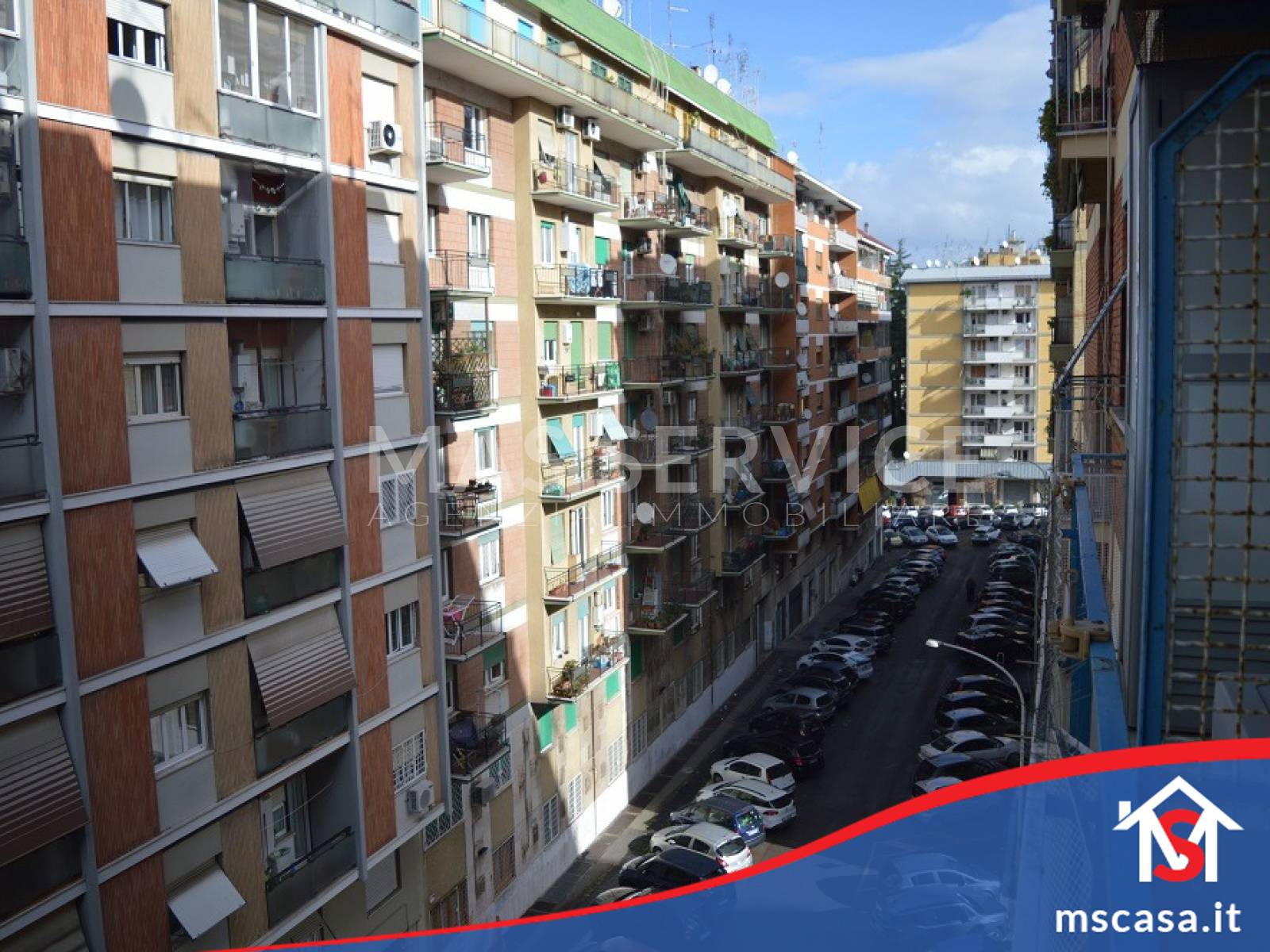 Quadrilocale in vendita zona Montagnola a Roma Vista Affaccio