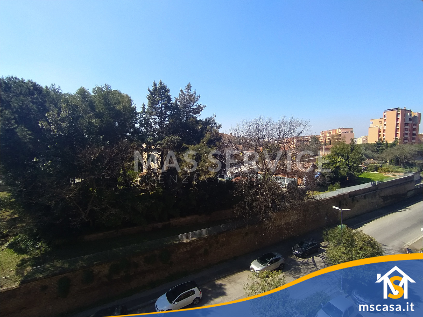 Quadrilocale in affitto zona Roma 70 a Roma Vista Affaccio