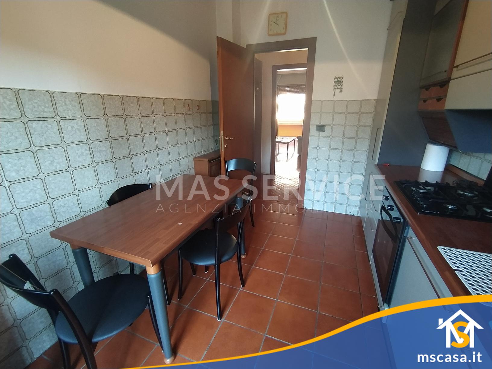 Quadrilocale in affitto zona Roma 70 a Roma Vista Cucina altra prospettiva