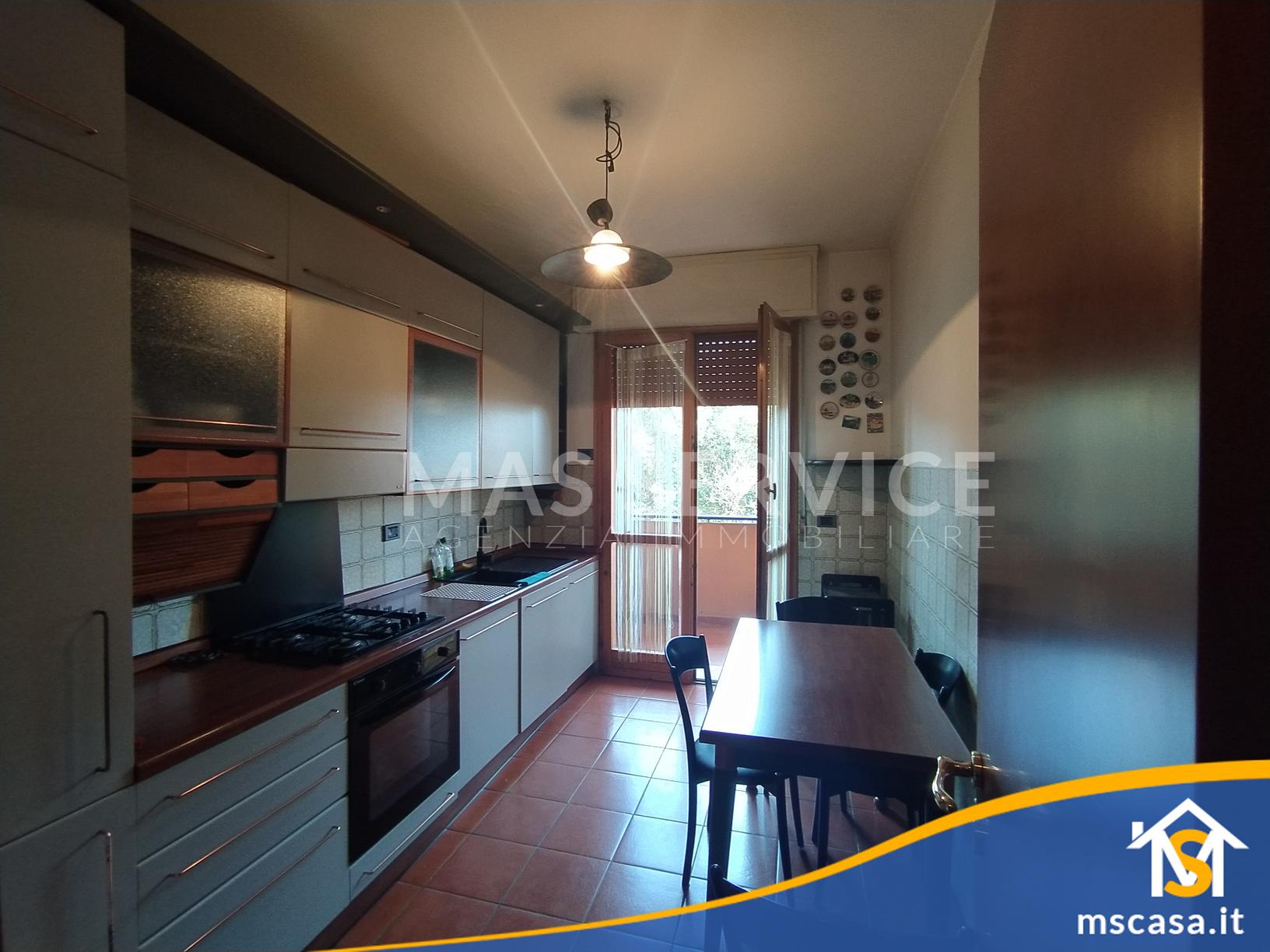 Quadrilocale in affitto zona Roma 70 a Roma Vista Cucina