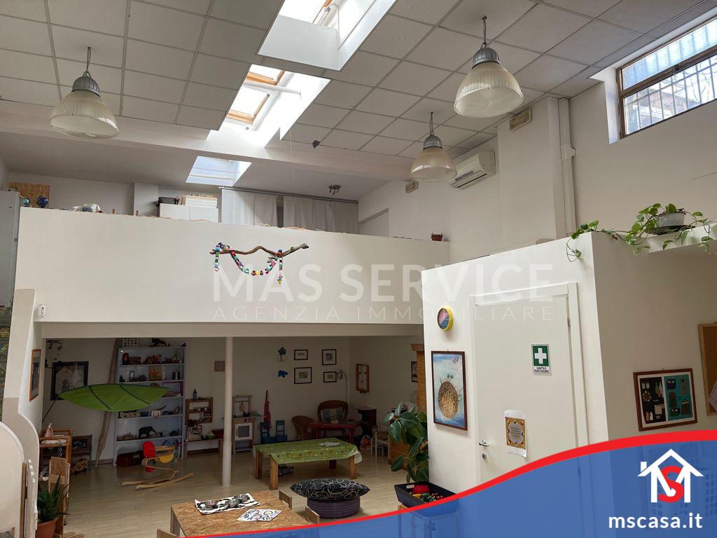 Locale Commerciale in vendita zona Ostiense a Roma Vista Sotto Soppalco