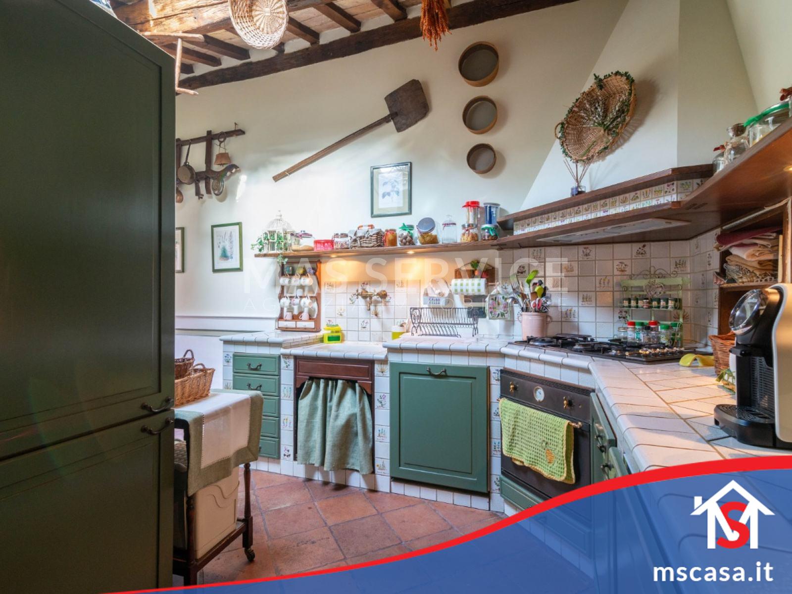 Attico in vendita zona Monti Colosseo a Roma vista Cucina