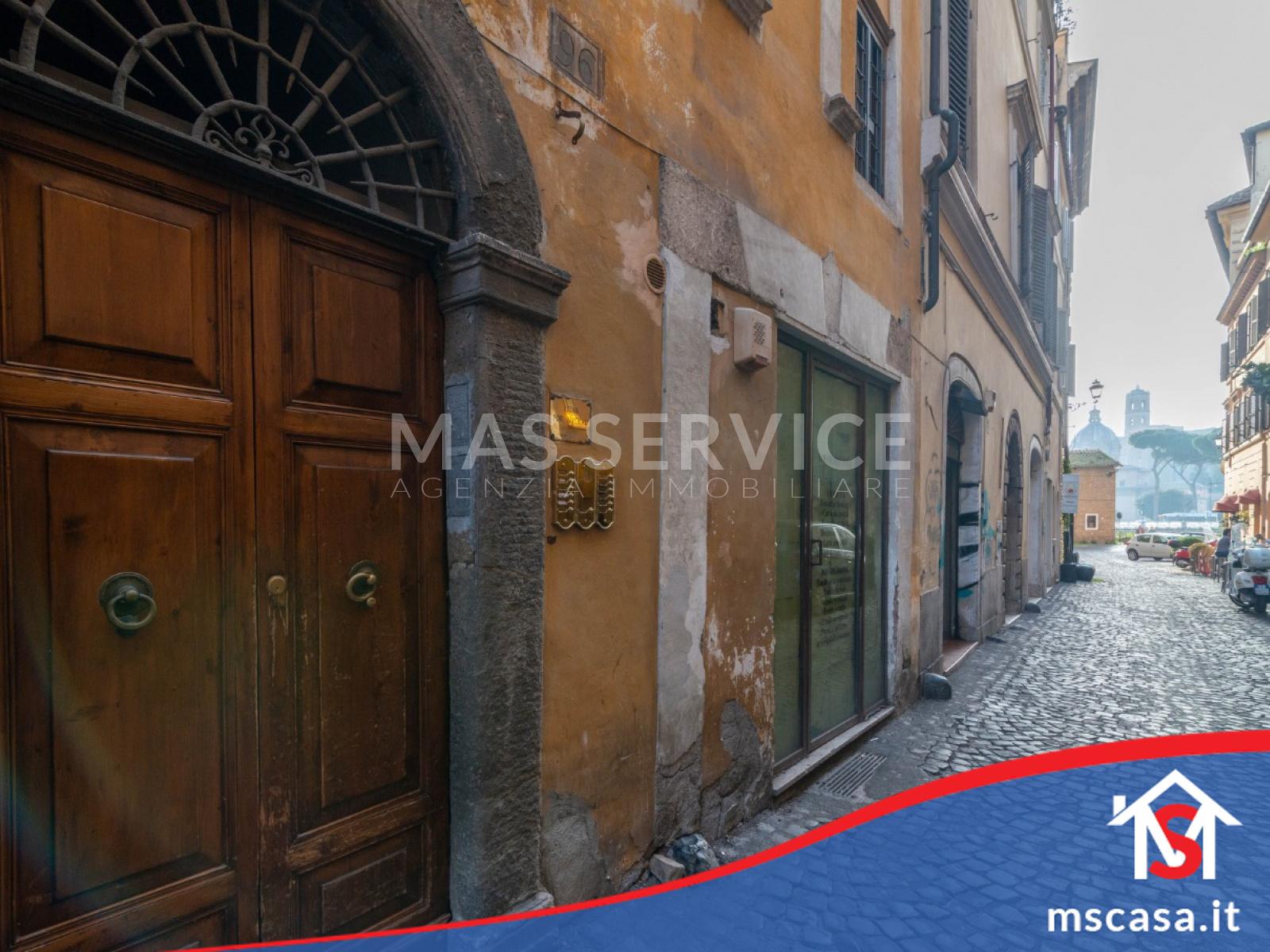 Attico in vendita zona Monti Colosseo a Roma vista  Via Stabile