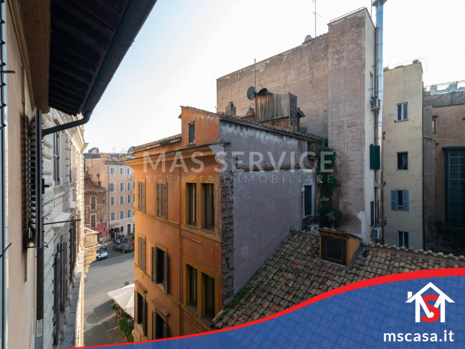 Attico in vendita zona Monti Colosseo a Roma vista Affaccio altra prospettiva