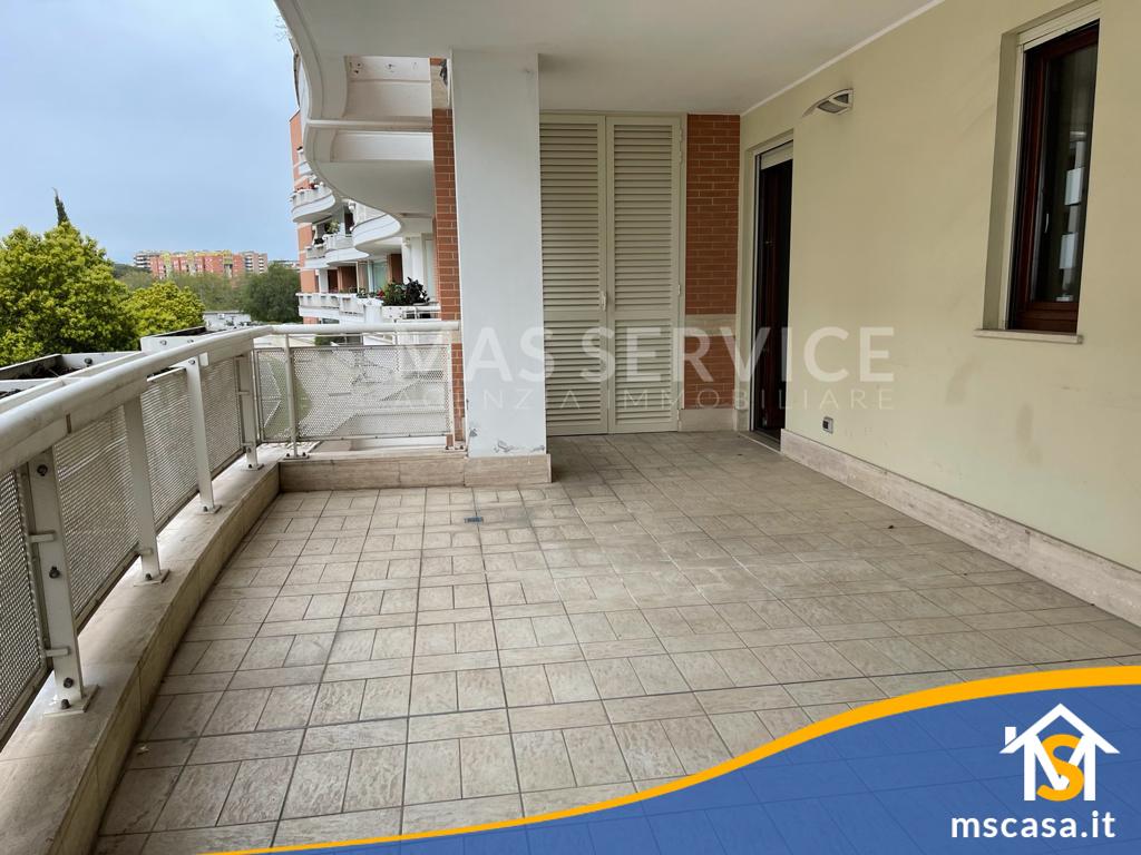Bilocale in affitto zona Mezzocammino a Roma Vista Terrazzo