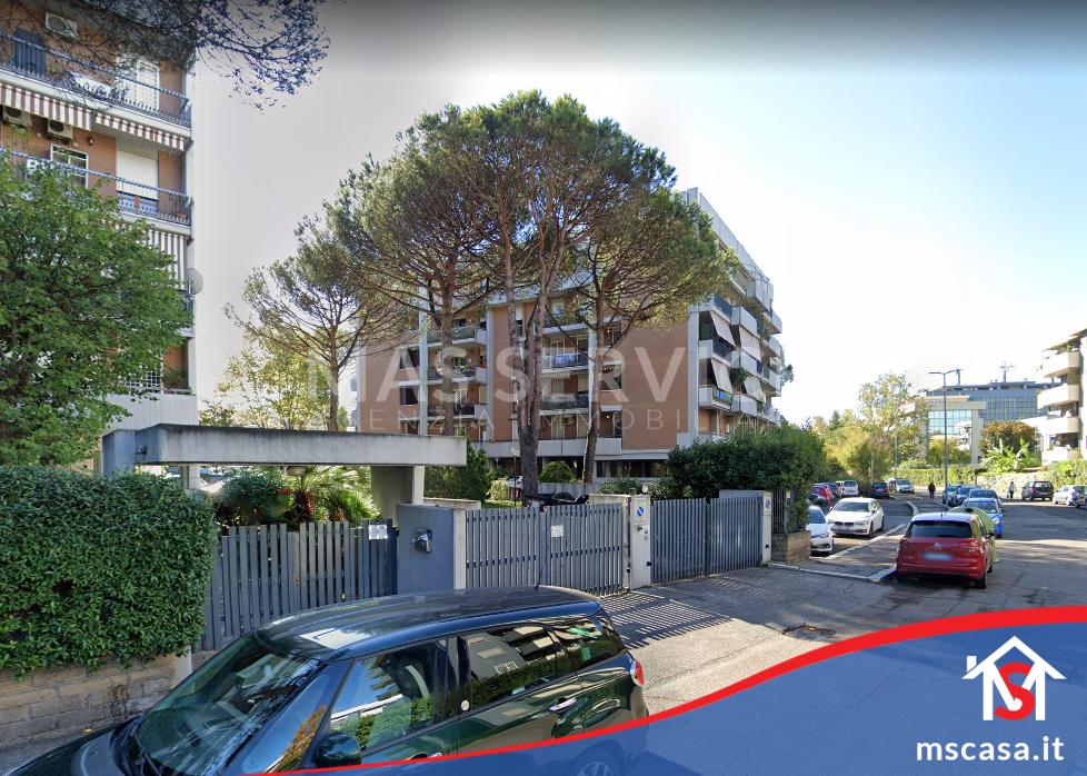 Bilocale in vendita zona Torrino a Roma Vista Esterno