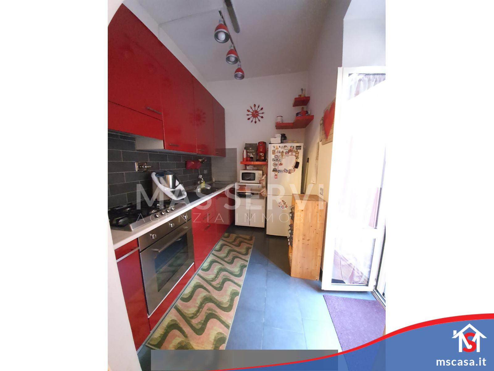 Bilocale in vendita zona Trullo a Roma Vista Cucina