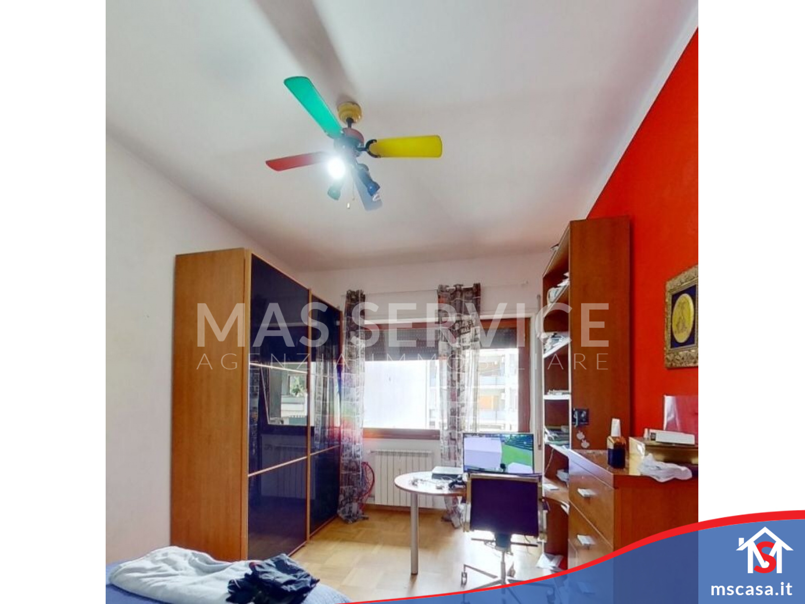 Quadrilocale in vendita zona Montagnola a Roma Vista 3 Camera
